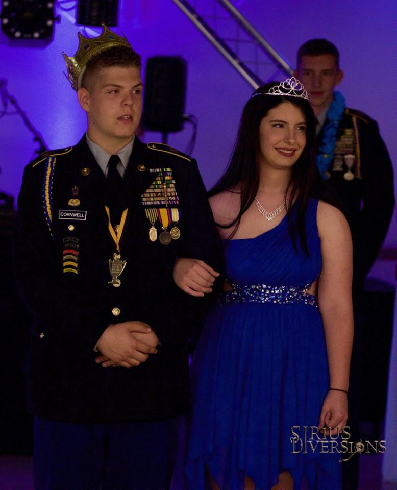 The Cass High School Colonel JROTC recently had their MIL Ball